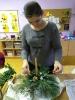 Vianočné ikebany v PŠ 2018